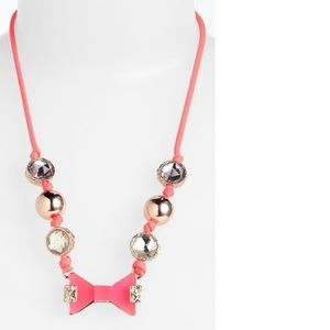 'Exploded Bow' Frontal Necklace